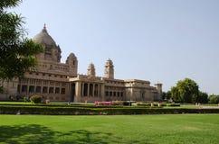 Umaid Bhawan Palace, one of the world`s largest private residences, Jodhpur, Rajasthan, India.  royalty free stock photos