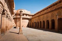 Umaid Bhawan slotthotell i Jodhpur, Indien Royaltyfria Foton