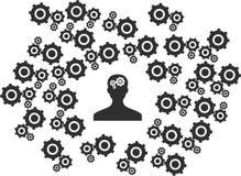 Uman mind Stock Image