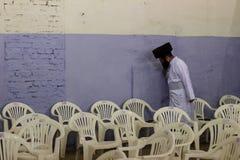 Uman, Ukraine - 14. September 2015: Jedes Jahr, Tausenden orthodoxer Hasidic Juden Bratslav Lizenzfreie Stockbilder