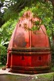 Umananda Shiva Temple, Gauhati, Assam Pfau-Insel mitten in Fluss Brahmaputra lizenzfreie stockfotos