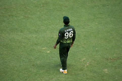 Umar Akmal, Pakistani Crickter Royalty Free Stock Images