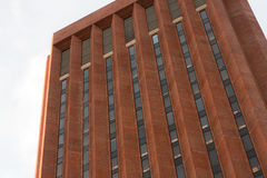 UMass Amherst Bibliothek Lizenzfreie Stockbilder