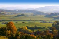 Šumava hills Stock Photo