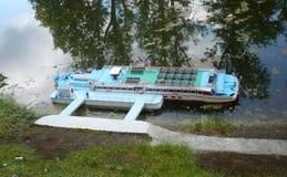 The Šumava liner - mini model Royalty Free Stock Images