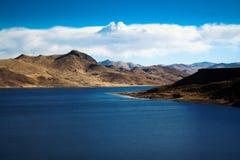 Umayo lake, near titicaca at puno peru Stock Photos