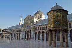 Umayyad-Moschee stockfotos