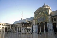 Umayyad Moschee, Damaskus, Syrien Stockbilder