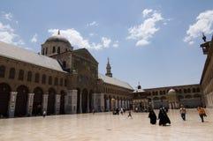 Umayyad Moschee (großartige Moschee von Damaskus) Stockfoto