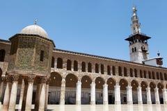 Umayyad moské i Damascus, Syrien. Royaltyfri Foto