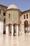 Umayyad mosque Stock Image