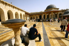 Umayyad Mosque Stock Photography
