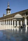 Umayyad Mosque. Courtyard at the Umayyad Mosque, Damascus, Syria stock photography