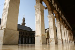 Umayyad Mosque. Is the most important and biggest mosque in the center of damascus / Syria Royalty Free Stock Photos