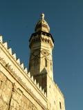 Umayyad Mosque, Damascus, the Minaret of Qaitbay. The Minaret of Qaitbay at Umayyad Mosque, the Great Mosque of Damascus, formerly the Basilica of Saint John the Stock Photo