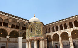 Umayyad Mosque in Damascus, Syria. Stock Image