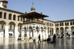 Umayyad Mosque in Damascus Royalty Free Stock Image