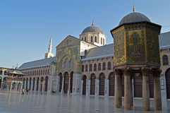 Umayyad Mosque. In Damascus Syria stock photos