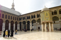 Umayyad Mosque - Damascus - Syria before civil war Royalty Free Stock Images