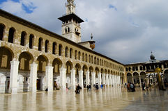 Umayyad Mosque - Damascus - Syria before civil war Royalty Free Stock Photography