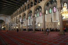 Umayyad Mosque in Damascus, Syria royalty free stock photography