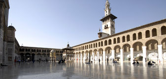 Umayyad Mosque Royalty Free Stock Photos
