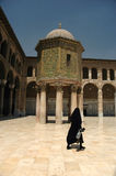 Umayyad mosque in syria Stock Photo