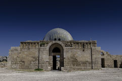 The Umayyad Palace in Amman, Jordan Royalty Free Stock Image