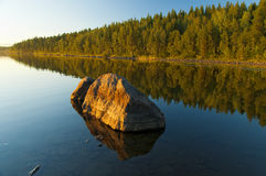 Umba River. Russia. Kola Peninsula. Royalty Free Stock Images