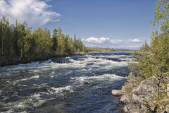 Umba river, Russia Royalty Free Stock Image