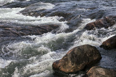 Umba river, Russia Royalty Free Stock Photography