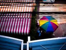 Umbella coloré Image stock