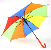 Umberlla. The colourful umbrella on the view Stock Photography