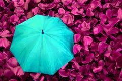 umberlla volledige kleur royalty-vrije stock afbeeldingen