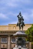 Umberto a cavallo royalty free stock image