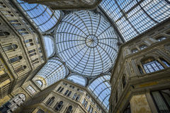Umberto gallery in naples Stock Photos