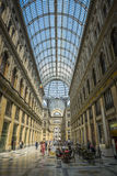 Umberto gallery in naples Royalty Free Stock Photography