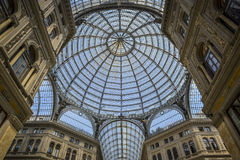 Umberto gallery in naples Royalty Free Stock Image