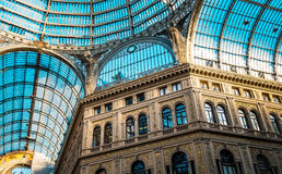 Umberto gallery in Naples Royalty Free Stock Images