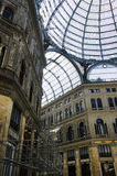 Umberto I gallery in the city of Naples Royalty Free Stock Image
