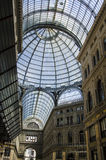 Umberto I gallery in the city of Naples Royalty Free Stock Images