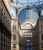 Umberto I gallery in Naples Royalty Free Stock Photos