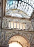 Umberto I gallery in Naples Stock Photography