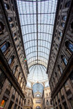 Umberto I gallery in Naples Stock Image