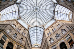 Umberto I gallery in Naples Royalty Free Stock Photos