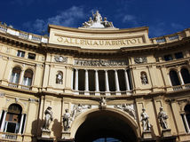 Umberto I gallery in Naples, Italy Royalty Free Stock Image