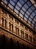 Umberto I gallery in Naples, Italy Stock Photos