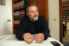 Umberto montano,florence Stock Image