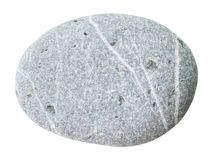Umbled被隔绝的graywacke石头 免版税图库摄影
