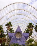 Umbracle, City of Arts and Sciences, Valencia Royalty Free Stock Images